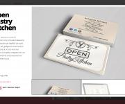 Open Pastry kitchen, Logo e immagine