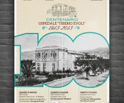 Manifesto centenario ospedale T. Evoli