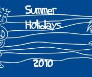 summer holidays 2010