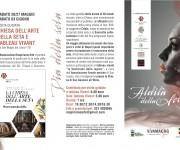 Brochure eventi Aldilà della seta - Maggio dei Monumenti 2017