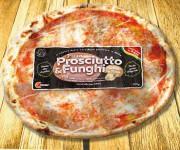 Cibitek Pizza Prosciutto e funghi