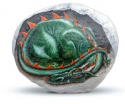 Sleeping Dragon stone