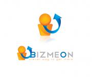 BIZMEON - creazione di un logo per la società di software e consulenze per la finanza con un icona che potesse diventare anche