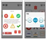 grafica vettoriale Mobile e Smartpos icone