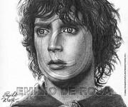Frodo Baggins-Elijah Wood. Il Signore degli Anelli
