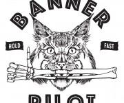 Banner Pilot Merch Design