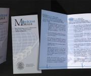 Medicina e Morale-Pieghevole (2003)