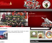 www.vfvpieve.it sito web su piattaforma Wordpress interamente customizzato e personalizzato