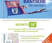 Promozione bandiere pennone