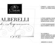 studio grafico etichetta vino negroamaro