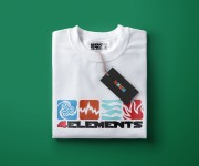 4ELEMENTS - T-SHIRT