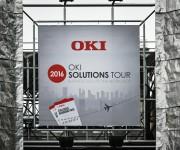 Banner esterno oki solutions tour