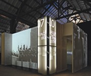 Realizzazione grafica per lo studio N0!3 della mostra ROSSA - Napoli e Torino