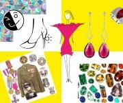 Moodboard per i disegni di moda