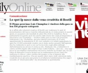 Pubblicazione Spot IP Daily Online