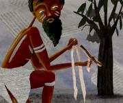 la prova (tratto dal racconto mitologico australiano sulla creazione della via lattea)