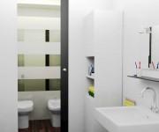 ristrutturazione casina - camera singola bagno