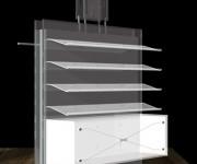FILA SHOP 02 - design: Studio De Lucchi