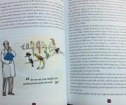 spaccato interno del libro illustrato sulla malattia neurologica rara edito da Springer