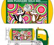Personalizzazione grafica autospurgo 05