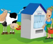 Il distributore del latte