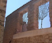 giardino pensile dal vicolo- Abruzzo