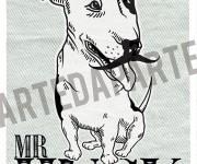 bull terrier copia