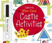 USBORNE Wipe-Clean Castles activities