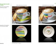 Coffee cup and saucer for coffee