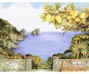 carta da decoupage Capri