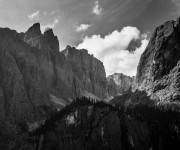 Dolomiti bianco e nero