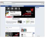 pagina facebook oki - viscom