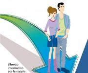 illustrazione vettoriale copertina libro infertilità