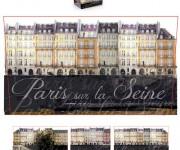 Scatola porta abiti  Parigi-sulla-senna -stesa