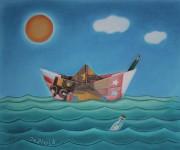 Con l'arte ho fatto una barca di soldi.JPG