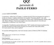 UN ALTRO STUDIO personale di PAOLO FERRO