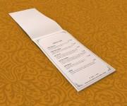 menu verticale rilegatura punto metallico