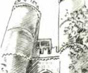 Genova - schizzo - porta soprana