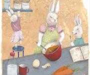 conigli in cucina