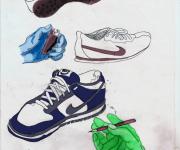scarpe e mani