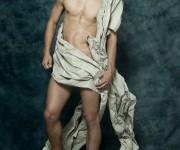 Male beauty shoot