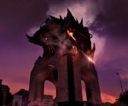 monumento revolcion atack