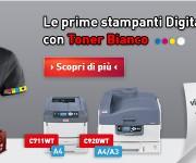 Banner OKI Toner Bianco
