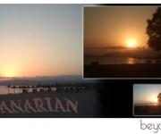 cartolina tramonto canarie sunset twilight