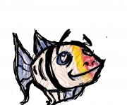 pesce di plastica