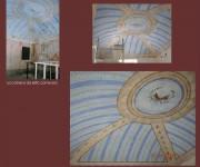 recupero pittorico soffitto voltato e decorato