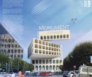 Progetto: Monument Deconstructions Colisseum di FCL