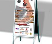 Cavalletto promozionale Bar La Sapienza