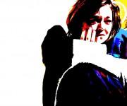 dietro angolo - acrylic on canvas - cm80x53 - 2009
