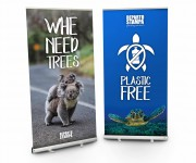Espositore roll-up 100x200